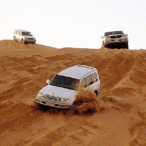 desert safari tourists